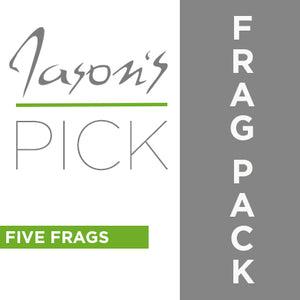 JASON FOX FRAG PACK (  5 EASY TO GROW FRAGS ) JASON'S PICK