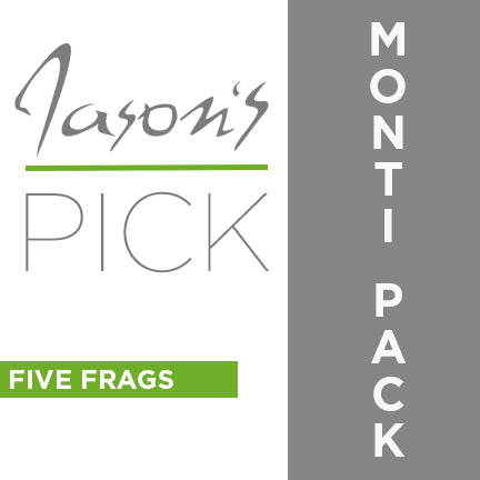 JASON FOX (MONTI FRAG PACK)  5 FRAGS JASON'S PICK