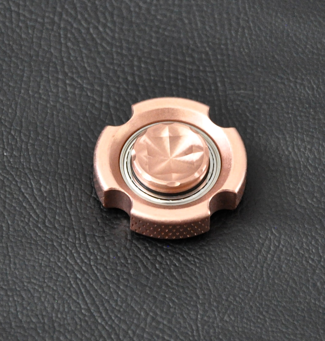 LoopHole Spinner - Copper T-4 Female Knurl - Without Core