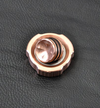 LoopHole Spinner - Copper T-3v2 Machined Knurl and Machine Finish - Without Core