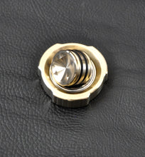 LoopHole Spinner - Bronze T-3v2 Machined Knurl and Machine Finish - Without Core