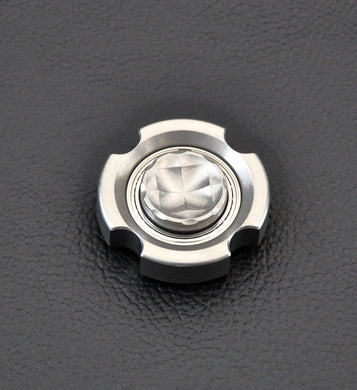 LoopHole Spinner - Stainless T-4 Micro Knurls - Without Core
