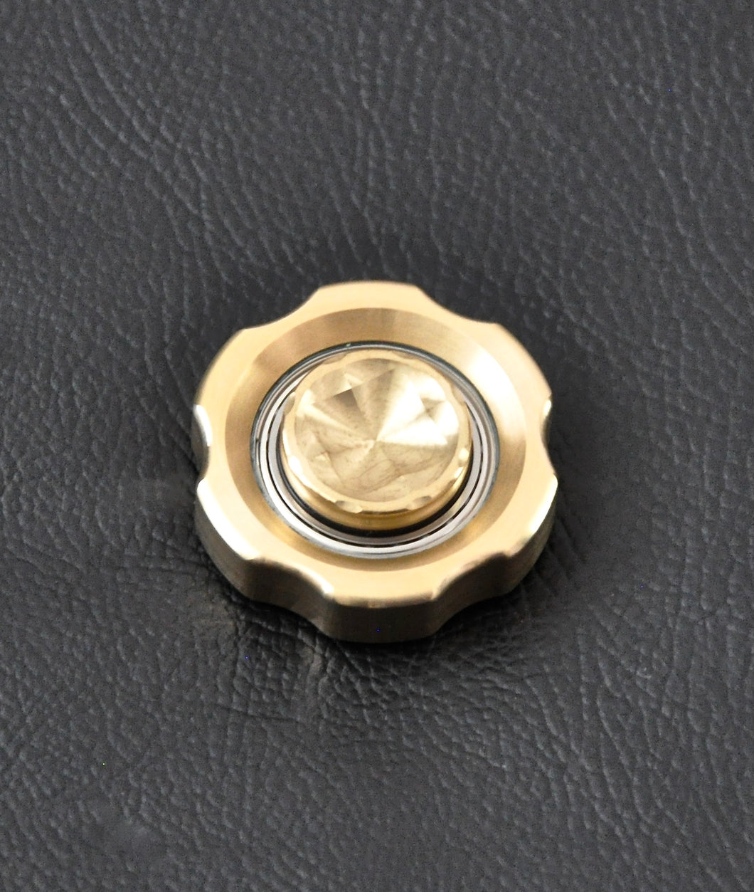 LoopHole Spinner - Brass T-6 Knurl Free - Without Core