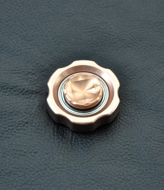 Copper T-6 Knurl Free - LoopHole Spinner - Without Core