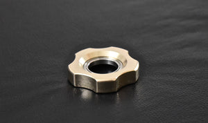 XL LoopHole Spinner - Brass T-5 Knurl Free - Without Core