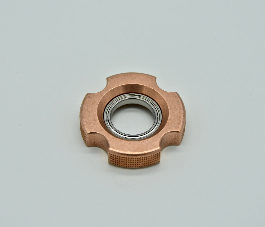 XL LoopHole Spinner - Copper T-4 Female Double Knurl - Without Core