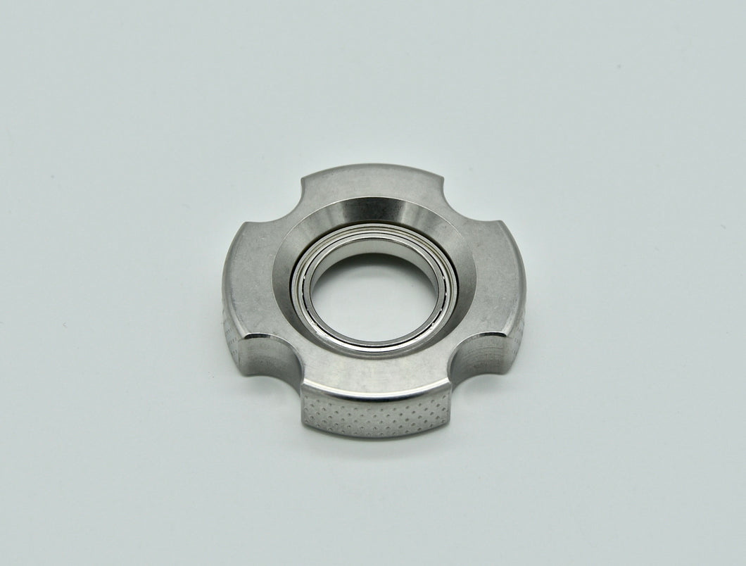 XL LoopHole Spinner - Stainless T-4 Female Knurl - Without Core