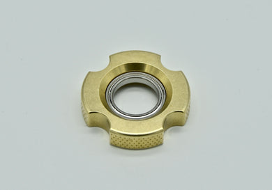 XL LoopHole Spinner - Brass T-4 Female Knurl - Without Core