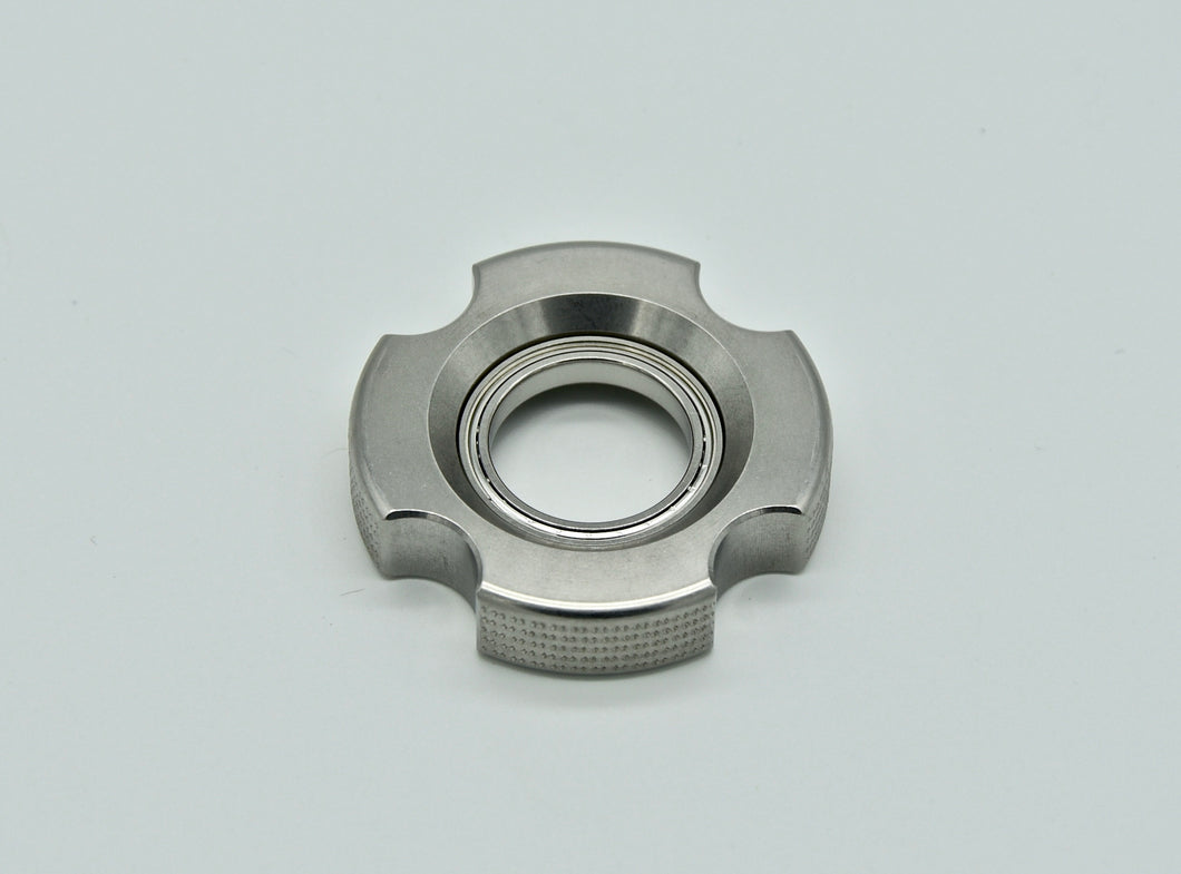 XL LoopHole Spinner - Stainless T-4 Female Double Knurl - Without Core