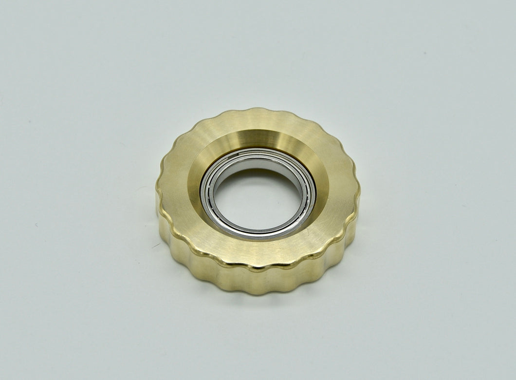 XL LoopHole Spinner - Bronze T-20 Knurl Free - Without Core
