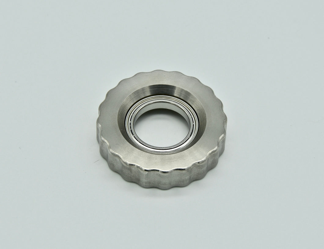 XL LoopHole Spinner - Stainless T-20 Knurl Free - Without Core