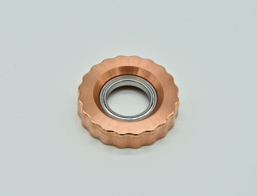 XL LoopHole Spinner - Copper T-20 Knurl Free - Without Core