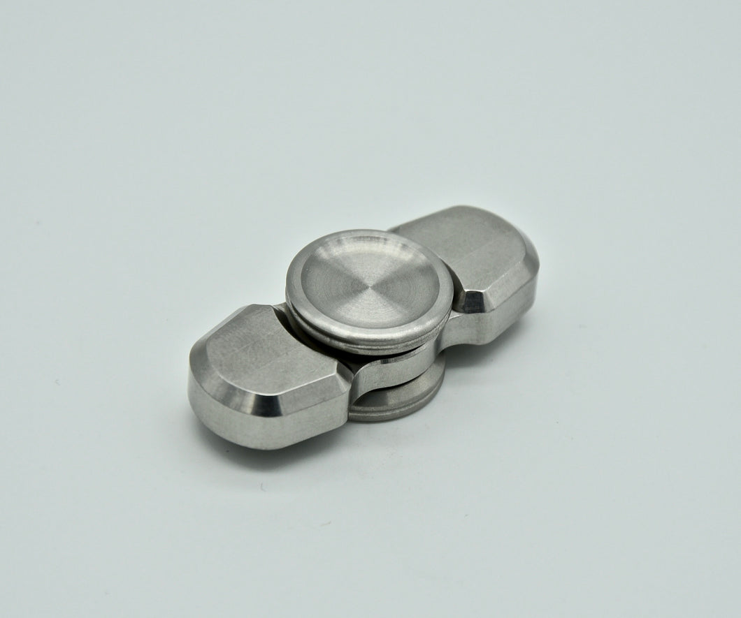 Dot² Bar Spinner - Tumbled Stainless