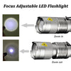 LED Flashlight 2000Lumens Zoomable - Five & Drive Supply