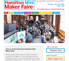 HAMILTON MINI MAKER FAIRE – SPONSOR AND EXHIBITOR