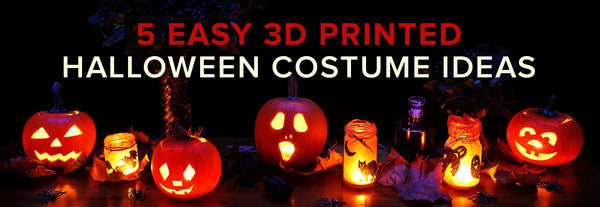 5 Easy 3D Printed Halloween Costume Ideas