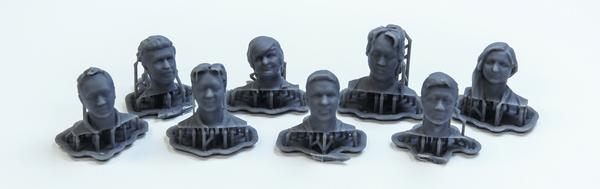 Shrunken Heads: Scanning and 3D Printing the Shop3D.ca Team