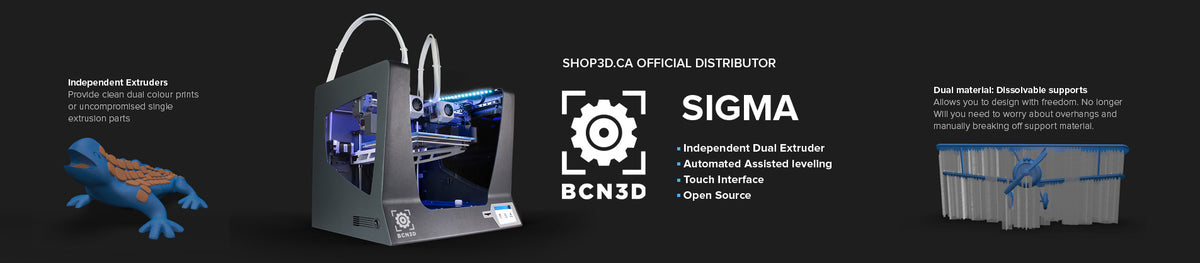 BCN3D Sigma R17 3D Printer for sale in Canada from Shop3D.ca