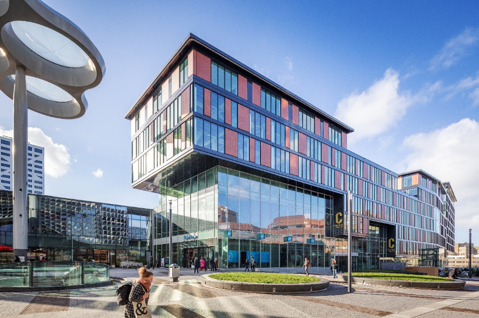 Creative Valley at Utrecht Central Station where Ultimaker headquarters office will be located