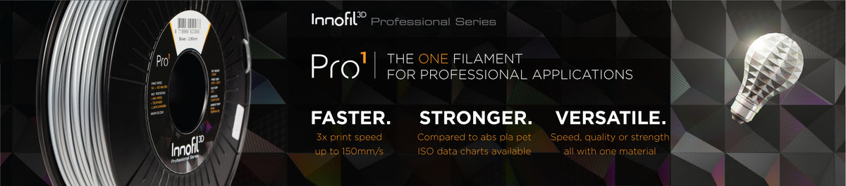 Innofil 3D Pro1 Filament now available in Canada from Shop3D.ca
