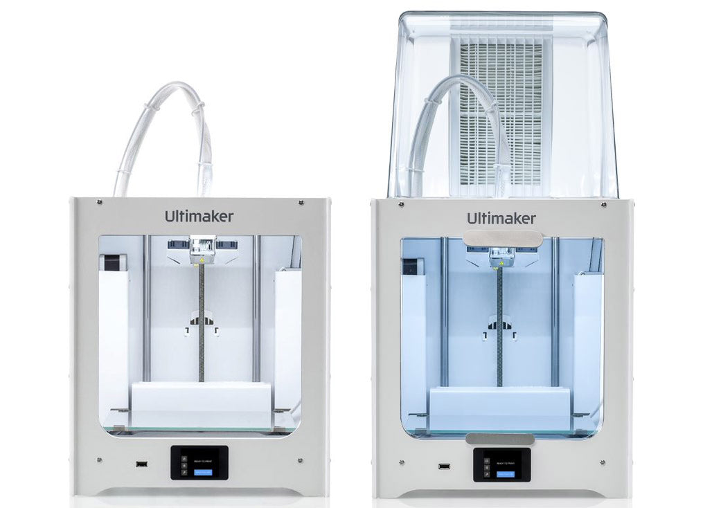 The Ultimaker 2+ Connect and Ultimaker 2+ Connect with Air Manager. A simple, hardworking 3D printer for education and small business.