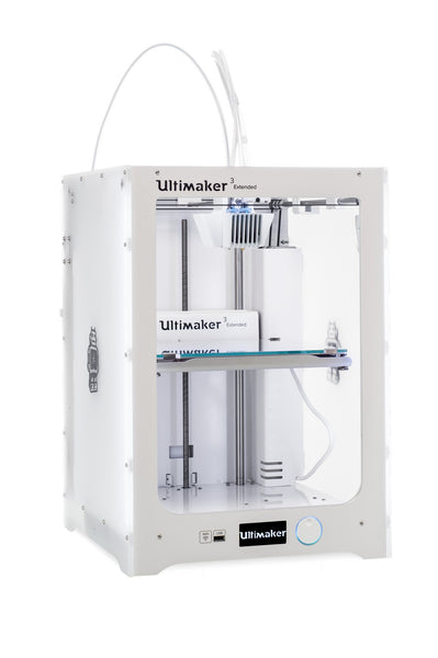 Ultimaker 3 Extended Right Side Angle