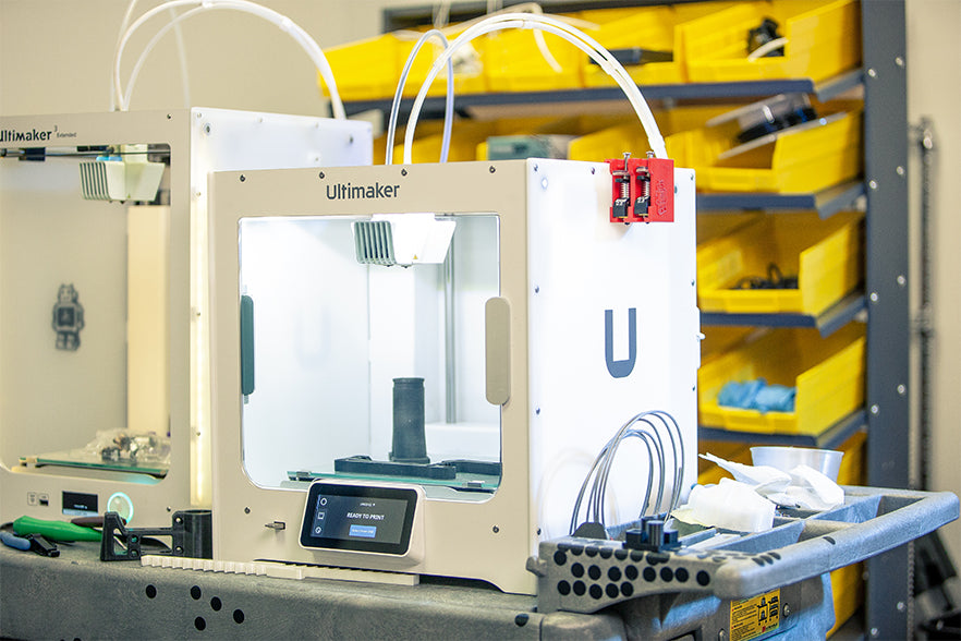 The Ultimaker S3 is a dual extrusion powerhouse