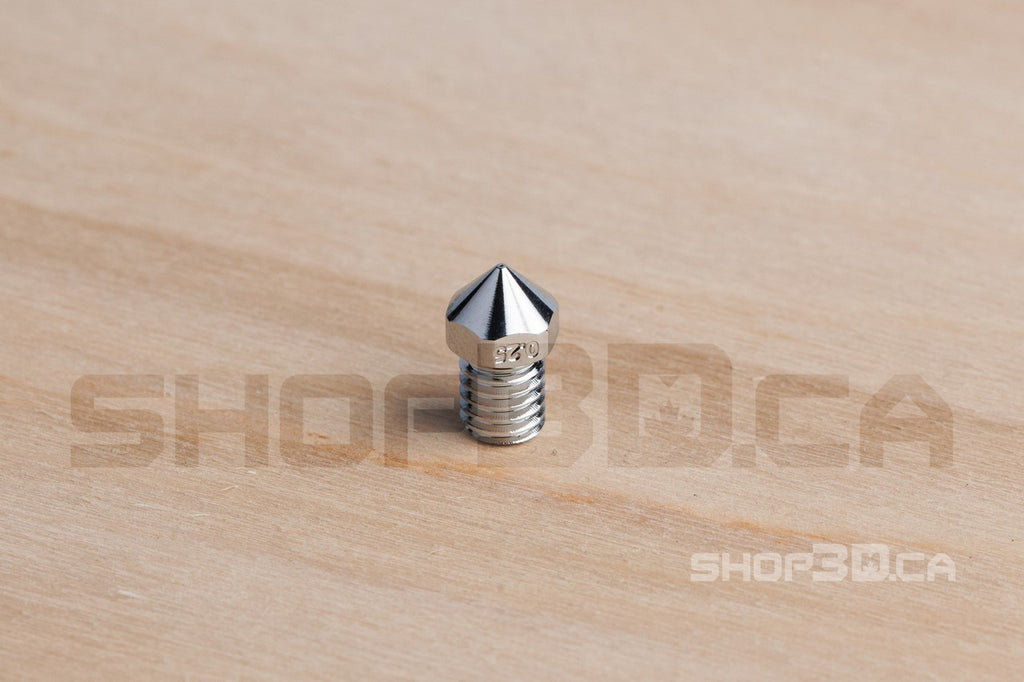 Matchless Chrome Nozzles for Ultimaker 2+ family by 3D Solex