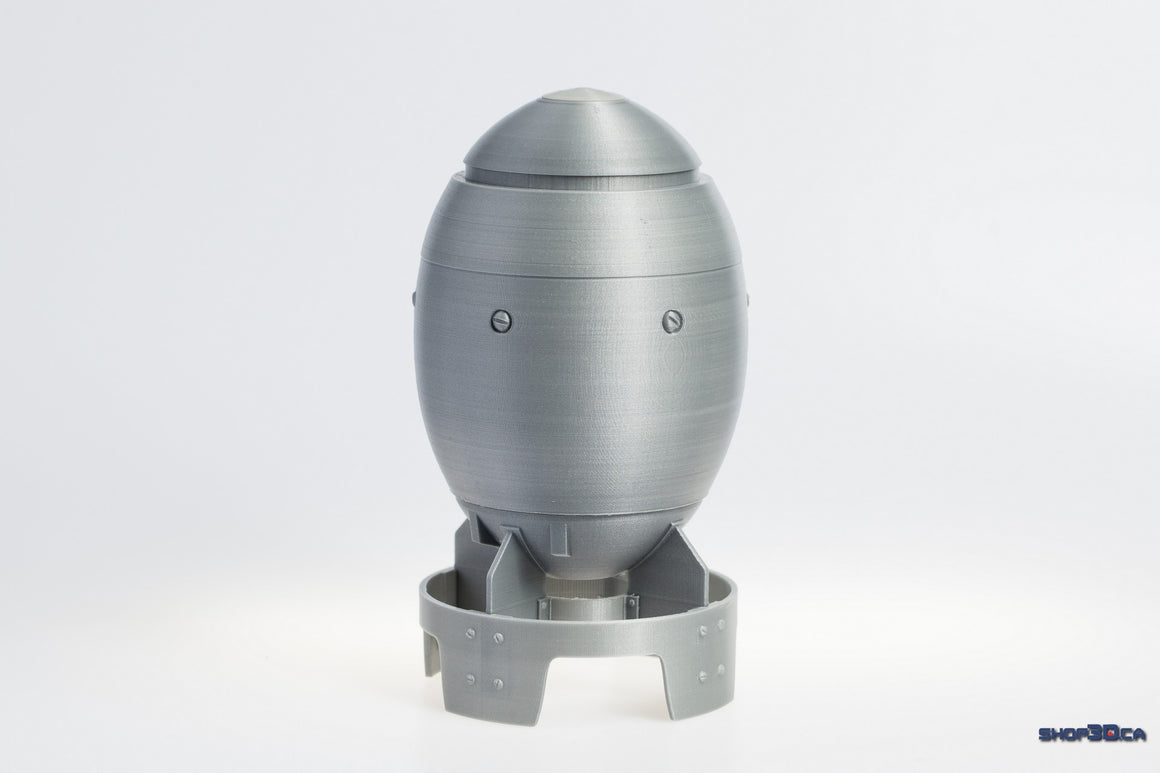 Fallout 4 Inspired Mini Nuke Shell Only (raw print model kit)