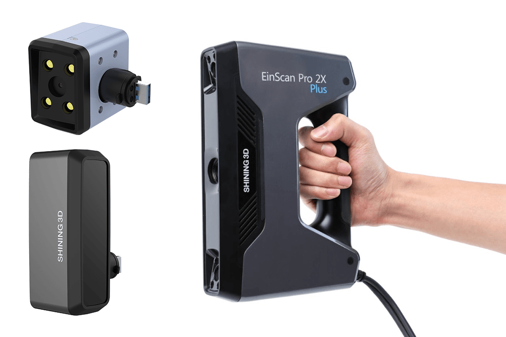 Shining3D - EinScan Pro 2X Plus - Multi-functional Hand Held 3D Scanner