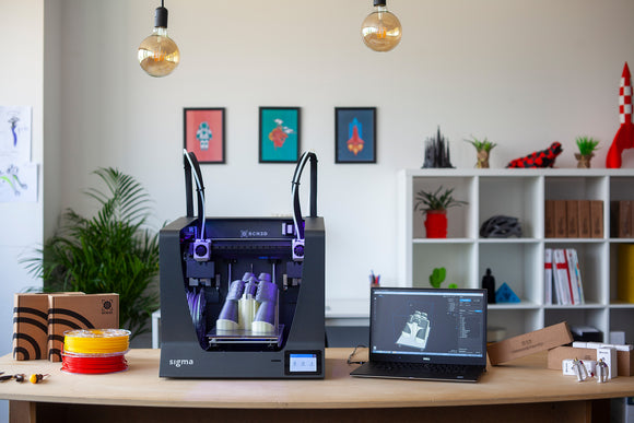 BCN3D Sigma R19 - Dual Extrusion 3D Printer