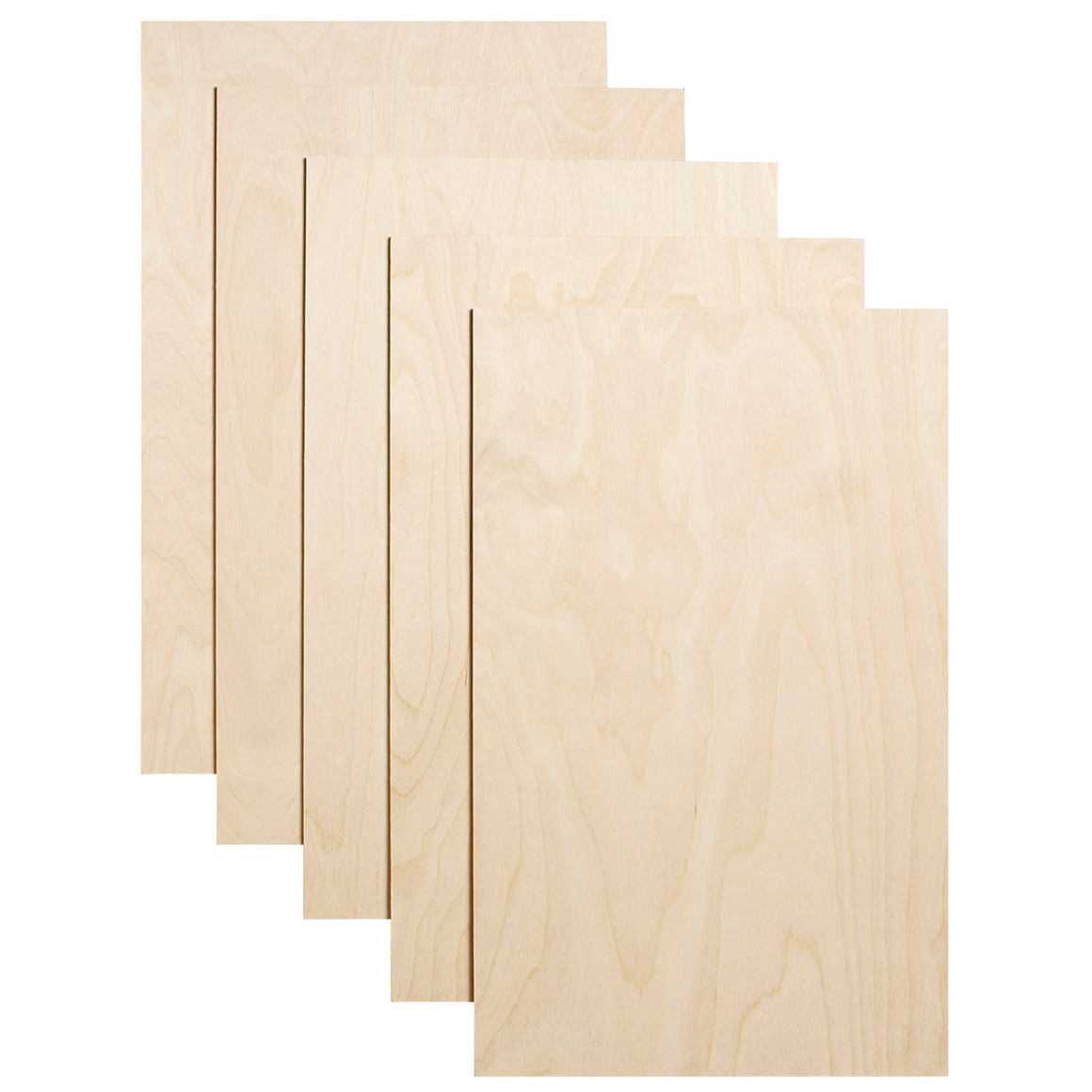 "Dremel 1/8"" Acrylic - Birch Plywood - 5 Pack - Laser Cutter Materials"