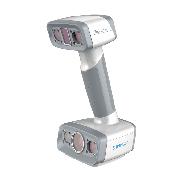 Shining3D - EinScan H - Hybrid LED and IR Light 3D Scanner - Shop3D.ca