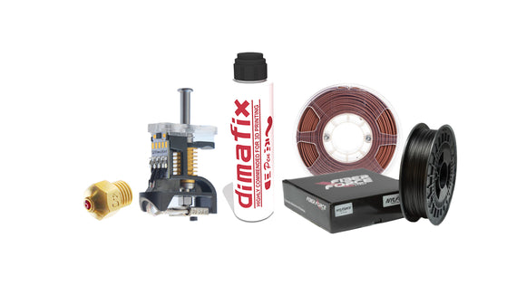 Ultimaker 3 Hardcore Abrasive Bundle
