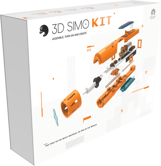 3Dsimo Kit - Custom Assembled 3D Printing Pen