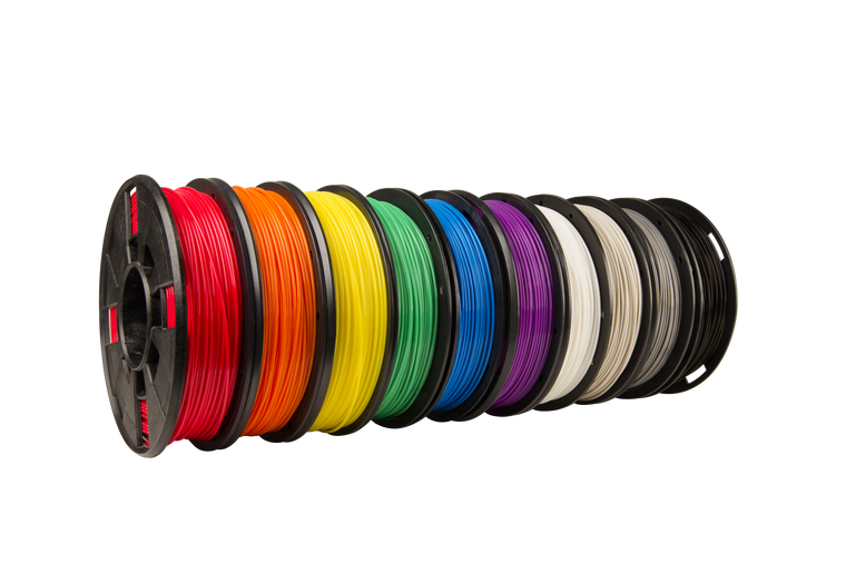 Makerbot PLA Filament - 10 Spool Pack (Small 0.2kg x 10 spools)