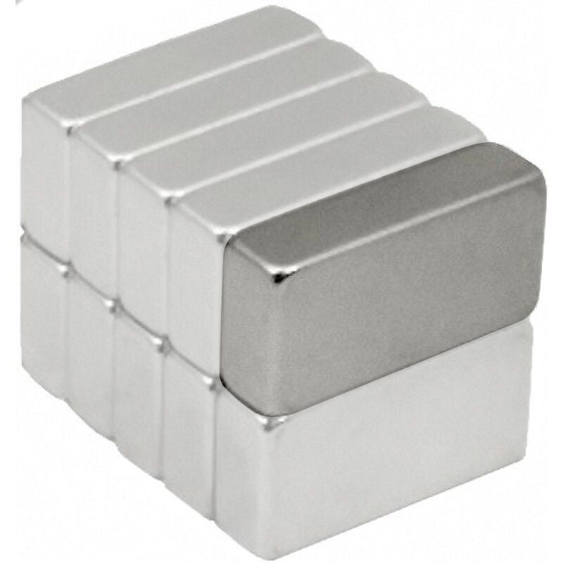 "1/2"" x 1/4"" x 1/8"" Super Strong Neodymium Magnets - Shop3D.ca"