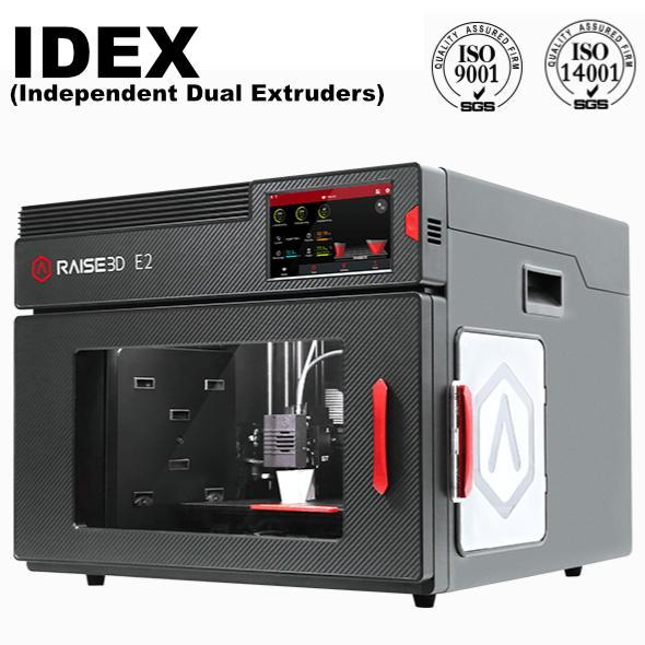 Raise3D E2 IDEX 3D Printer - Shop3D.ca