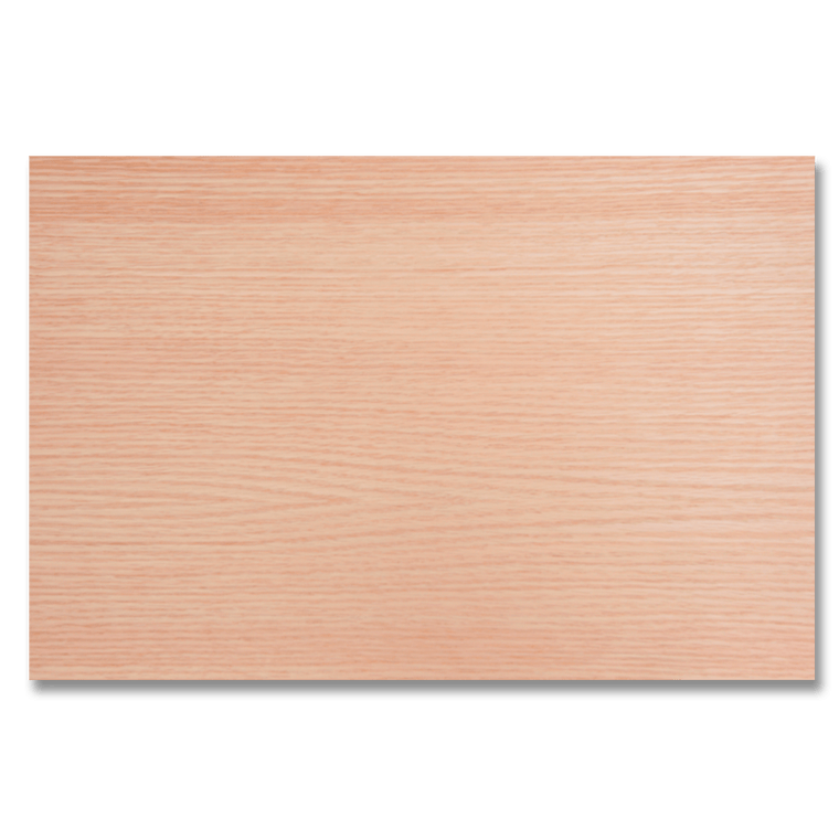 "Premium 2-Sided 1/8"" Red Oak Plywood - Laser Cutter Materials"