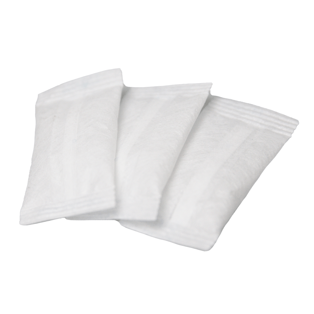 Resealable Zip Bags with Silica Gel Dessicant - 3 Pack
