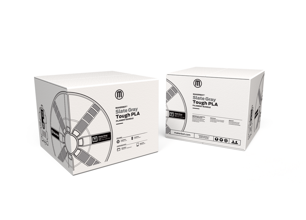 Makerbot Tough PLA Filament Bundle for Replicator