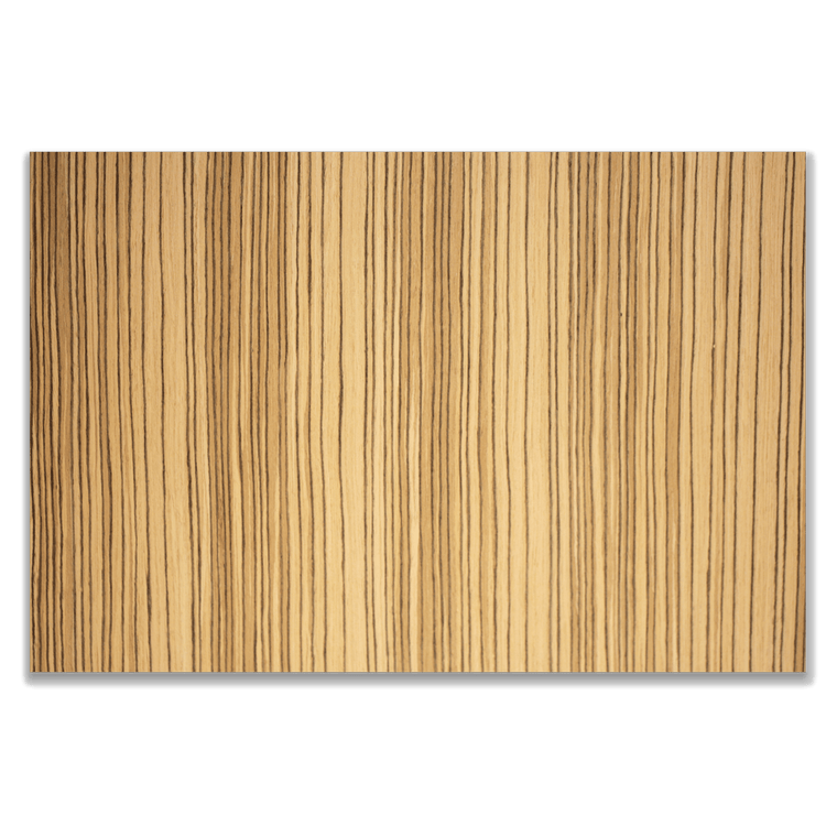 "Premium 2-Sided 1/8"" Zebra Plywood - Laser Cutter Materials"