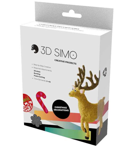 3D Pen Project - 3Dsimo Creative Box - Christmas - Shop3D.ca