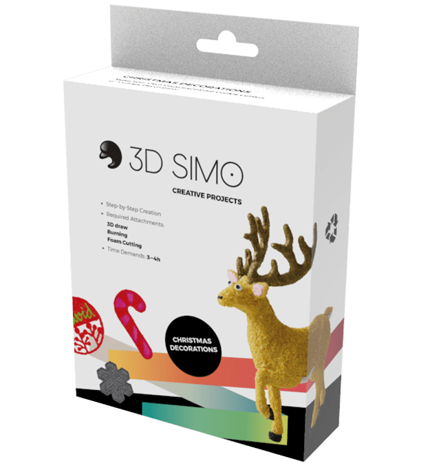 3D Pen Project - 3Dsimo Creative Box - Christmas
