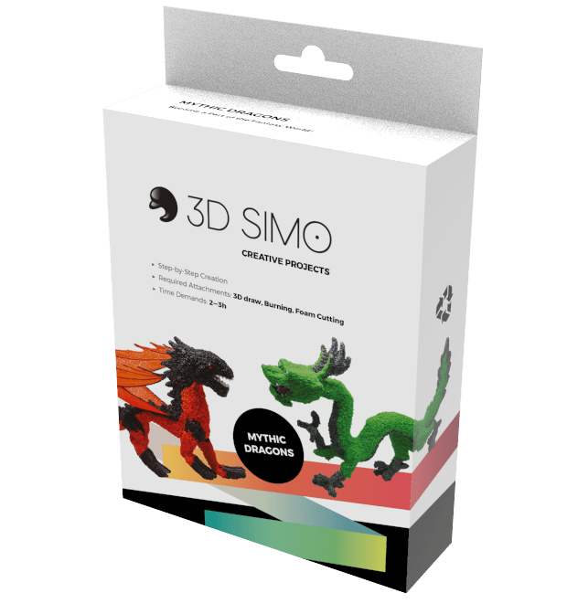 3Dsimo - Creative Box - Dragon
