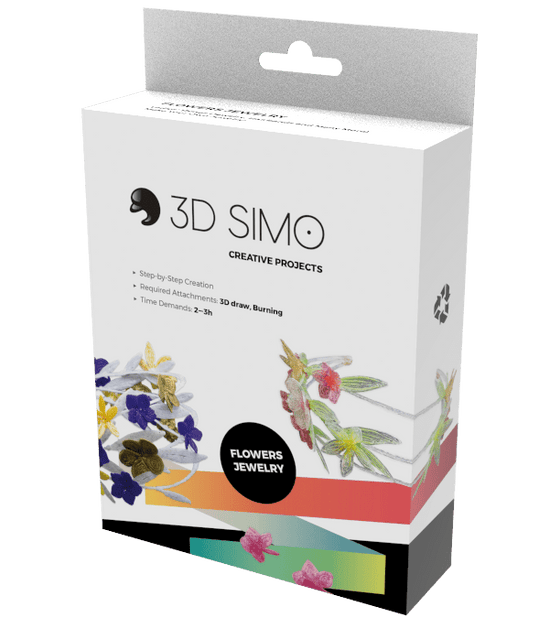 3D Pen Project - 3Dsimo Creative Box -  Jewellery - Shop3D.ca