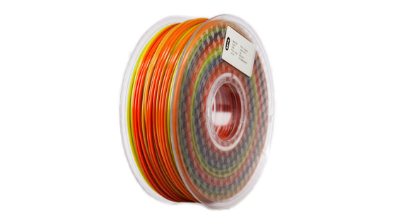 Spiral3D - Rainbow PLA - 1.75mm - 1 kg Spool