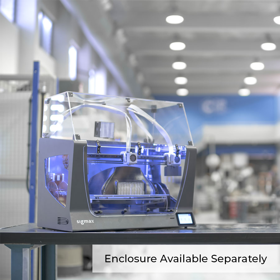 BCN3D Sigmax R19 Dual Extrusion 3D Printer (Demo Unit)