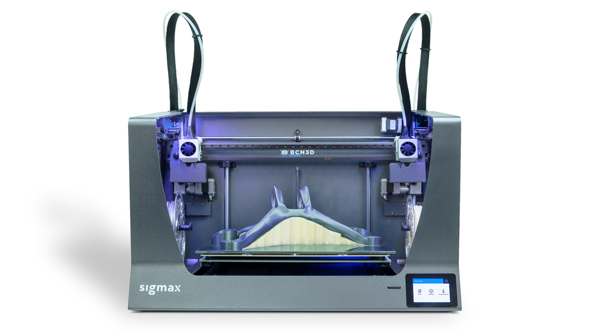 BCN3D Sigmax R19 Dual Extrusion 3D Printer