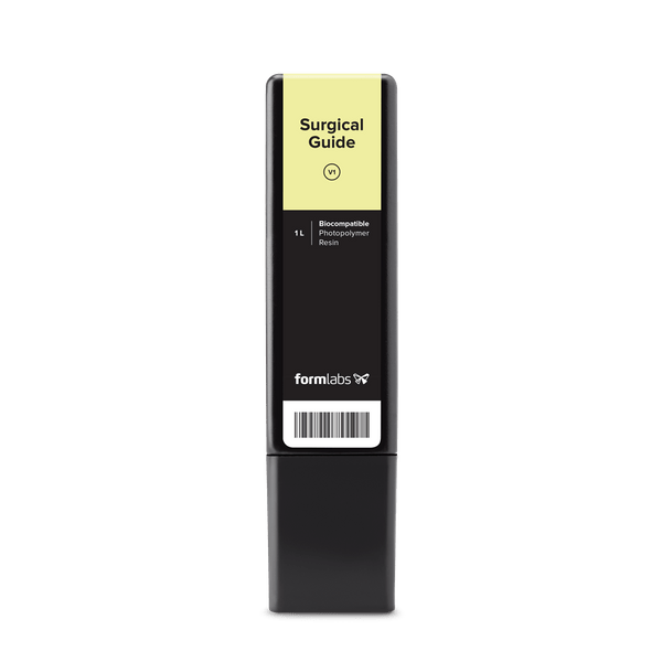 Formlabs Surgical Guide Resin Cartridge (1 Litre OEM) - Shop3D.ca
